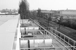 Planung und Errichtung einer Tiefkühlhauserweiterung mit Büro auf dem Großmarkt von Berlin durch Andreas Schröder Architekturbüro